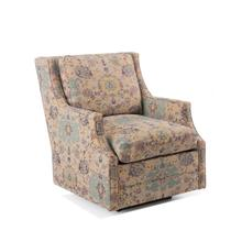 Wingback Scoop-Arm Glider Chair