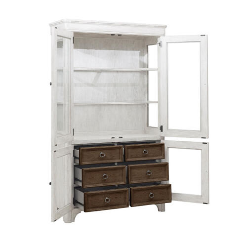 Glendale Estates 6 Drawer Curio Cabinet