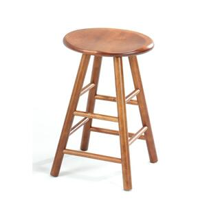 "24"" Swivel Saddle Barstool"