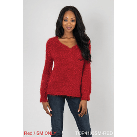 Holiday Sweater - Red - S/M (2 pc. ppk.)