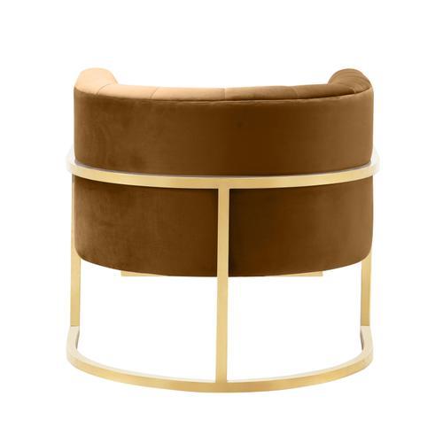Tov Furniture - Magnolia Cognac Velvet Chair