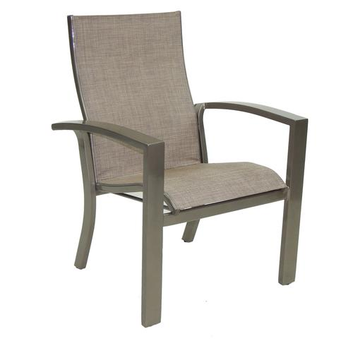 Castelle - Orion Stackable Sling Dining Chair