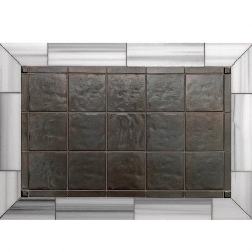 Basic - Backsplash White Bronze Medium