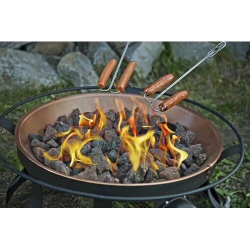 Extendable Safety Roasting Sticks - 4 pack