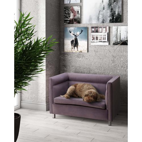 Tov Furniture - Beagle Grey Pet Bed