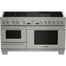 View Product - 60-Inch Pro Grand® Commercial Depth Dual Fuel Steam Range