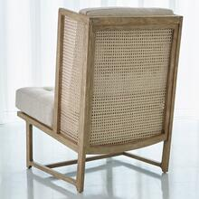 Palm Desert Wing Chair-Muslin