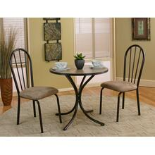 CR-D8009  3 Piece Linen Dinette Set
