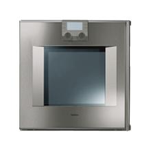 """200 series oven BO 251 611 Stainless steel-backed full glass door Width 24"""" (60 cm) Left-hinged"""