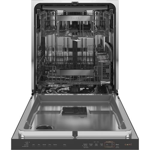 Café Stainless Steel Interior Dishwasher with Dual Convection Ultra Dry Modern Glass