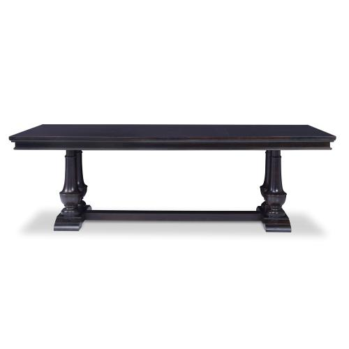 "Harvest Dining Table (96"") -Rubbed Raven"