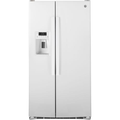 GE® 25.3 Cu. Ft. Side-By-Side Refrigerator