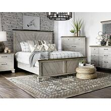 Bear Creek 4-Piece King Set (King Bed/DR/MR/NS)