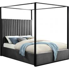 "Jax Velvet Bed - 82"" W x 86.5"" D x 78.5"" H"