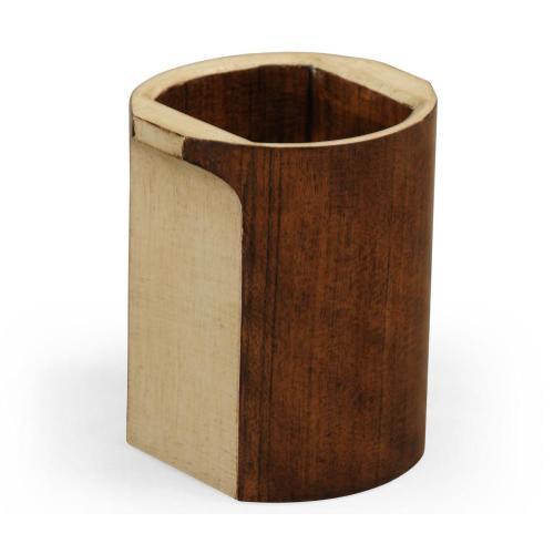 Cosmo pen box round ivory colour