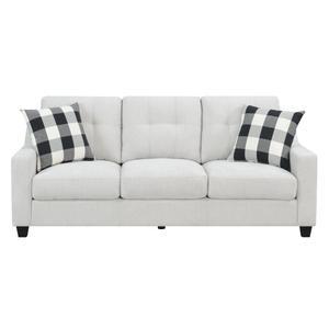 Emeraldhome Sofa W/2 Pillows Beige U3471-00-09