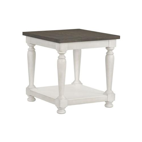 Gallery - Grand Bay End Table, White