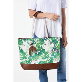 Paradise Canvas Beach Tote (2 pc. ppk.)