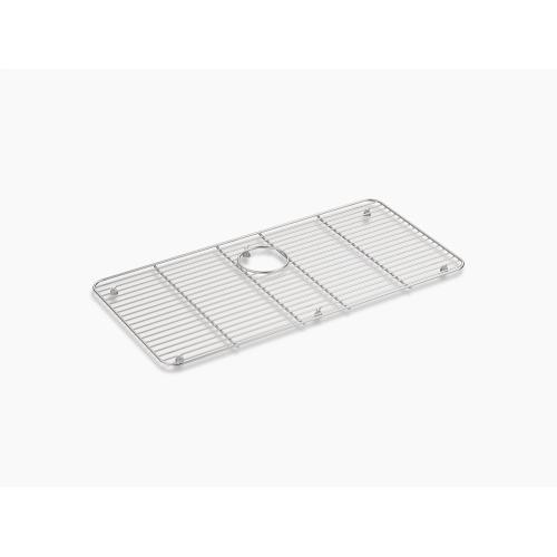 """Stainless Steel Stainless Steel Sink Rack, 28-7/16"""" X 14-3/16"""" for Iron/tones Kitchen Sink"""
