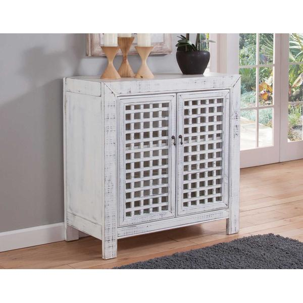 See Details - Rio Accent Cabinet, White