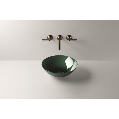 Dish basin, SB.Aqua360, deep green
