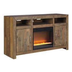 """Sommerford 62"""" TV Stand With Electric Fireplace"""