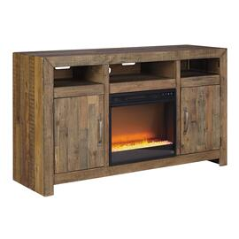 "Sommerford 62"" TV Stand With Electric Fireplace"