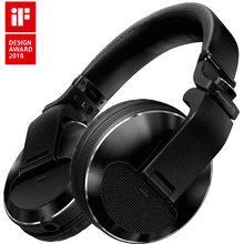 Flagship professional over-ear DJ headphones (black)