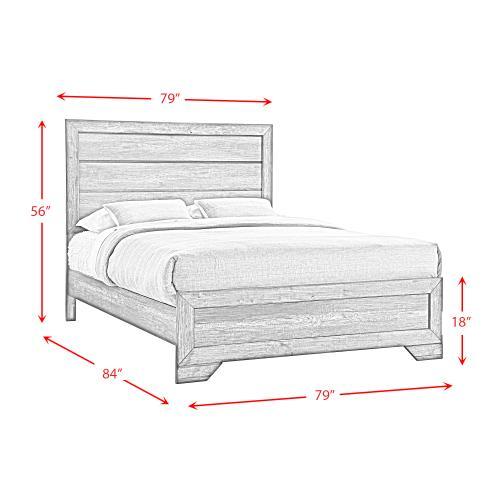 Nathan King Panel Bed