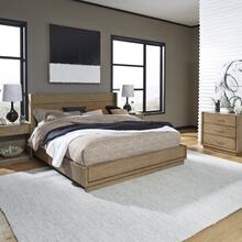 Big Sur King Bed, Two Nightstands and Chest