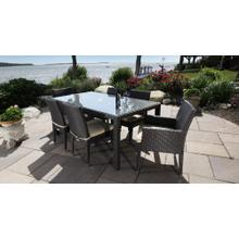See Details - Cypress Outdoor Dining Set for 6