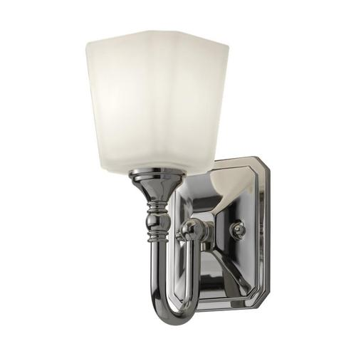 Concord 1-Light Sconce Polished Nickel