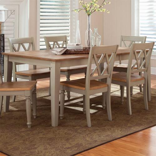 Liberty Furniture Industries - Rectangular Leg Table