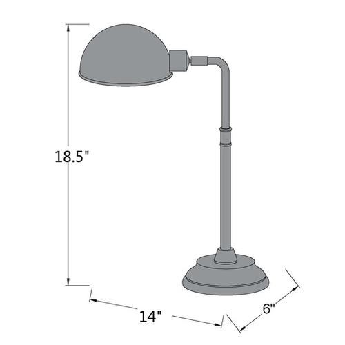 "Surya - Colton COLP-003 19""H x 14""W x 6""D"