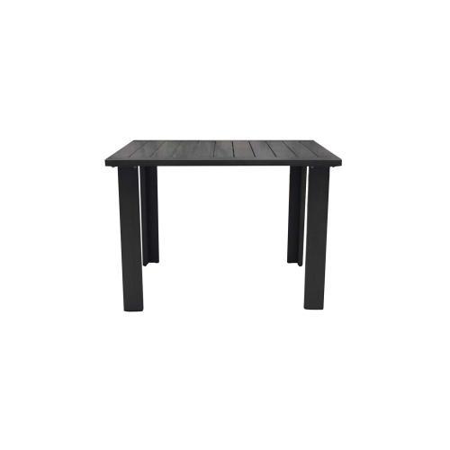 "Limo 43"" Square Dining Table w/Umbrella Hole"