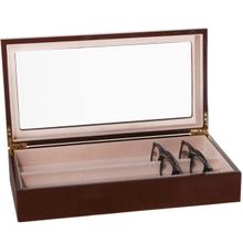 See Details - Large Brown Eyewear Valet.
