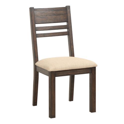 Cambridge Upholstered Seat Dining Chair, Dark Mocha 1106-315-s