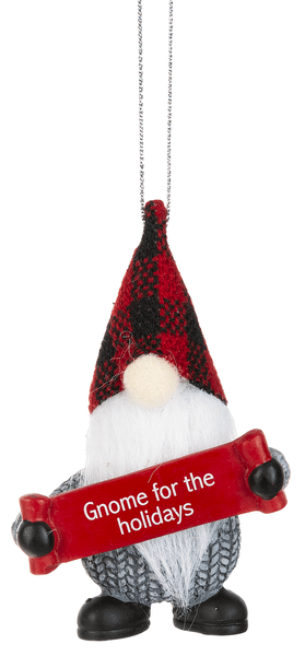 Ornament - Gnome for the holidays