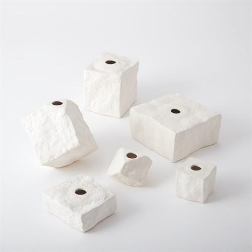 Rocky Block Vase-Square-Sm