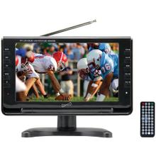 "9"" TFT Portable Digital LCD TV, AC/DC Compatible with RV/Boat"