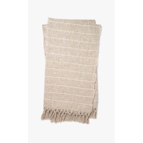 T1039 MH Natural / Ivory Throw