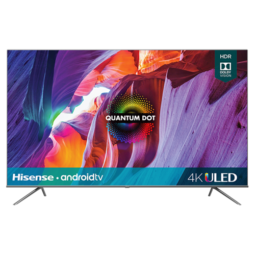 "Product Image - 75"" Class- H8G Quantum Series - Quantum 4K ULED Hisense Android Smart TV (2020)"