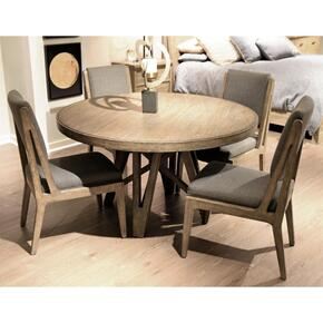 Milton Park - Round Dining Table - Primitive Silk Finish