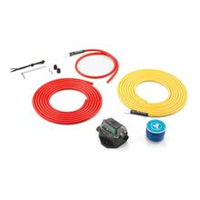Premium 9 AWG 12V Power Marine Connection Kit, Single Amplifier, Within 12 ft of Battery