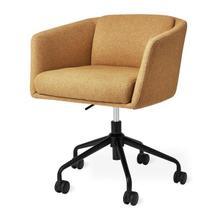 See Details - Radius Task Chair Stockholm Camel / Black