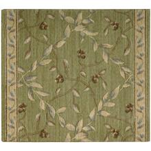 "Ashton House Regal Vine A02r Kiwi 27"" Runner"