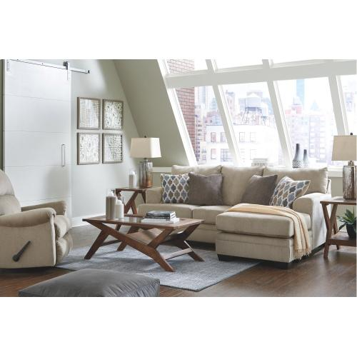 Ashley - Sofa Chaise and Recliner