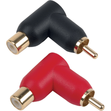 Digital Plus right angle RCA plugs 2 pack