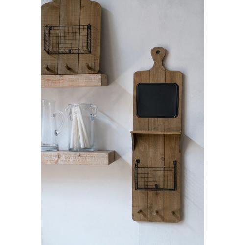 A & B Home - S/2 Wall Basket