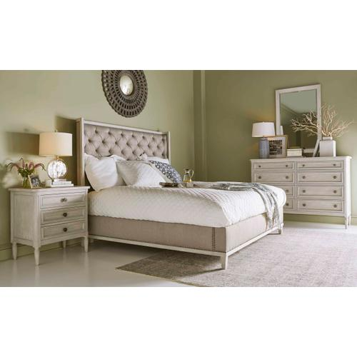 Charlotte 8 Drawer Dresser Chippy Gray